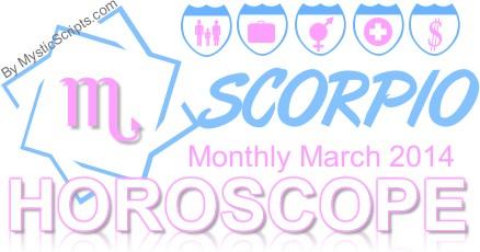 Monthly Horoscopes For Scorpio | Caroldoey