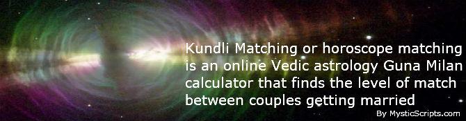 Kundli horoscope compatibility