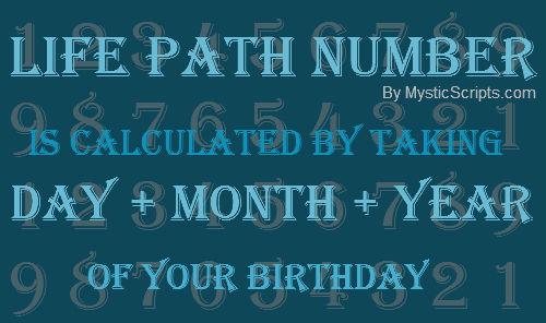 2014 Lifepath Numerology Calculator